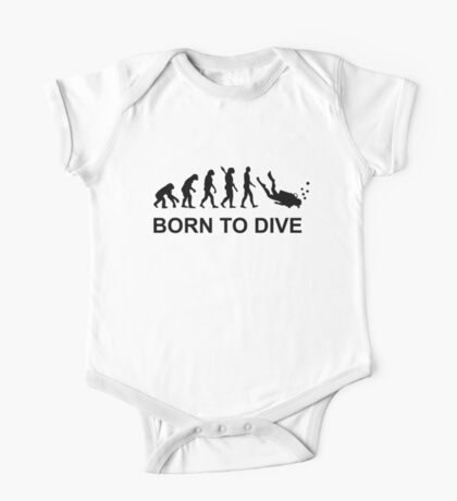 Evolution Born to Dive Diving  One Piece - Short Sleeve