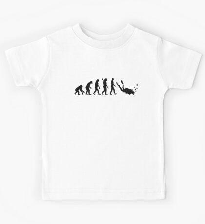 Evolution Diving Kids Tee