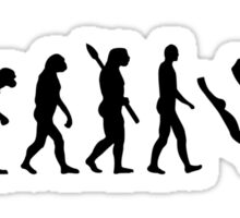 Evolution Diving Sticker