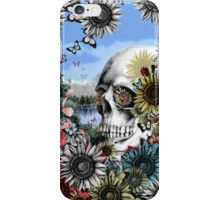 Nature skull landscape iPhone Case/Skin