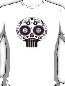 Mexican 'Day of the Dead' Skull Pattern T-Shirt