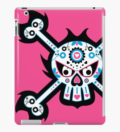 Mexican 'Day of the Dead' Skull iPad Case/Skin