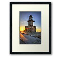 Lower Light, Fleetwood Framed Print