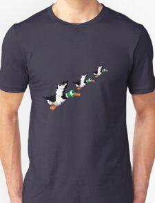 8-Bit Nintendo Duck Hunt 'Trio' Unisex T-Shirt