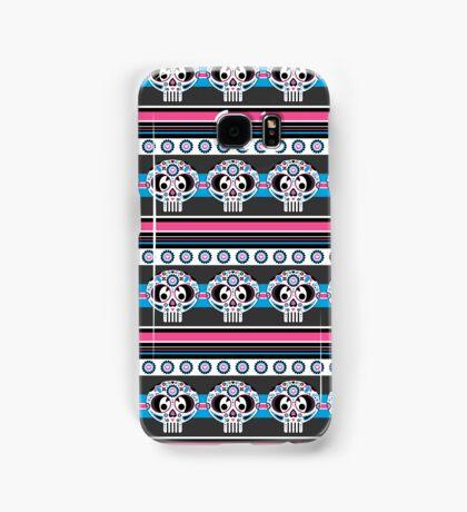 Mexican 'Day of the Dead' Skull Stripe Samsung Galaxy Case/Skin