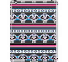 Mexican 'Day of the Dead' Skull Stripe iPad Case/Skin