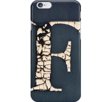 F. iPhone Case/Skin