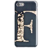 F. iPhone Case/Skin