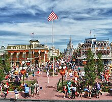 Main Street USA by Gwilanne Carlos