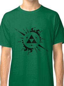Triforce Black and White Classic T-Shirt