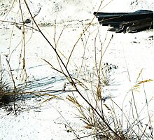 White Abstract Landscape Photography Photographic Print