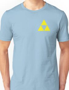 Triforce Badge Yellow Low Cost HQ Unisex T-Shirt