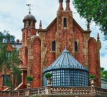 The Haunted Mansion by lmcarlos