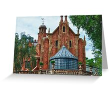 The Haunted Mansion Greeting Card