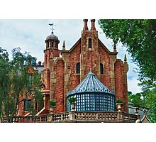 The Haunted Mansion Photographic Print