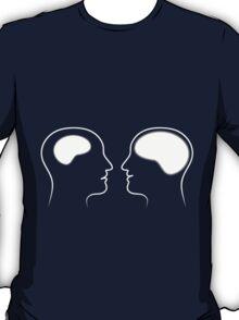 Brains Size Comparison T-Shirt