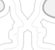 Brains Size Comparison Sticker