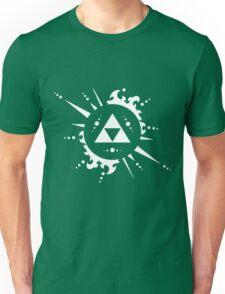 Triforce White Unisex T-Shirt