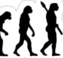 Evolution Hiking trekking Sticker