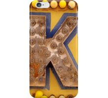 K. iPhone Case/Skin