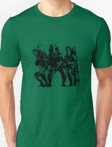 Ghostbusters Film Poster Silhouette Unisex T-Shirt