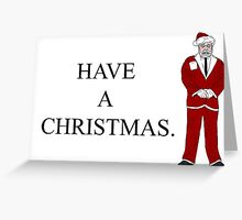 Corporate Santa Greeting Card