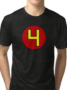 That's a pretty excellent number 4 Tri-blend T-Shirt