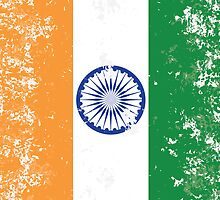 Flag of India by quark