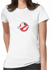 Original Ghostbusters Logo (in colour) Womens Fitted T-Shirt