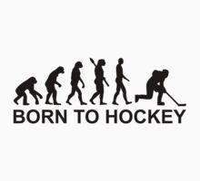 Evolution Born to Hockey One Piece - Short Sleeve