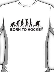 Evolution Born to Hockey T-Shirt
