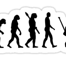 Evolution Goalie Hockey Sticker