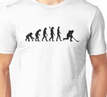 Evolution hockey player Unisex T-Shirt