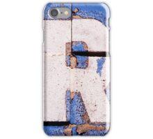 R. iPhone Case/Skin