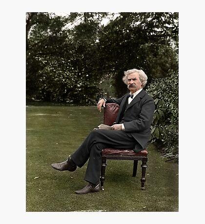 Mark Twain Photographic Print