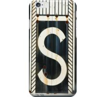 S. iPhone Case/Skin