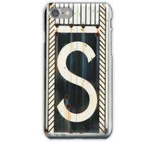 S. iPhone Case/Skin