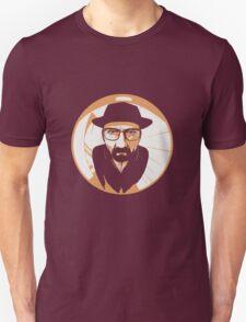 Heisenberg face Silouhette Shadow Unisex T-Shirt