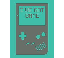 I've got game, Boy Photographic Print