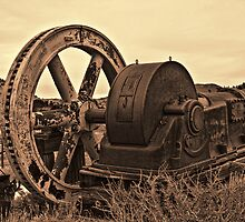 Weathered Collar Mine Engine by Brenton Cooper