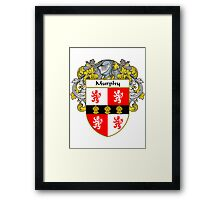 Murphy Coat of Arms/Family Crest Framed Print