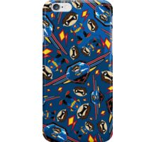 Cute Superhero Pattern iPhone Case/Skin