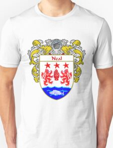 Neal Coat of Arms/Family Crest T-Shirt