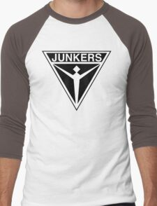 Junkers Aircraft logo Men's Baseball ¾ T-Shirt