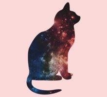 Galaxy cat! Kids Clothes