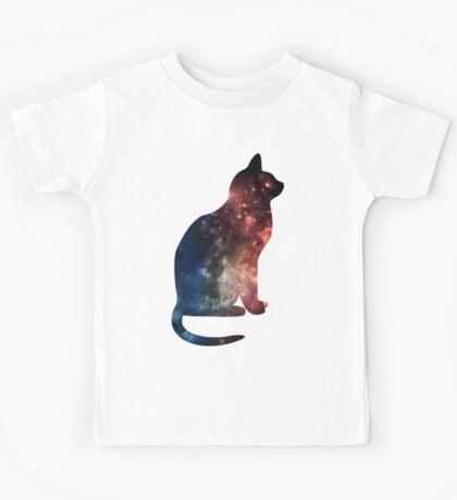 Galaxy cat! Kids Tee