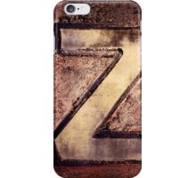 Z. iPhone Case/Skin