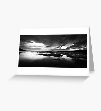 Fishguard Seascape - Pembrokshire Wales. Greeting Card