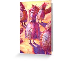 Happy Bird Party Greeting Card