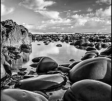Pebbles at Westward Ho  by hayzeedays